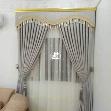 Classified Ads In Nigeria, Best Post Free Ads - curtains-in-wuse-abuja-for-sale-big-2