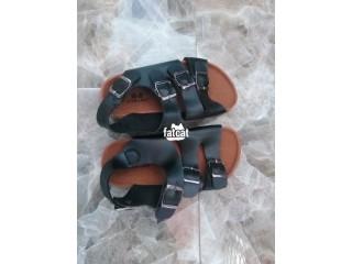 Unisex Leather Sandals for Children
