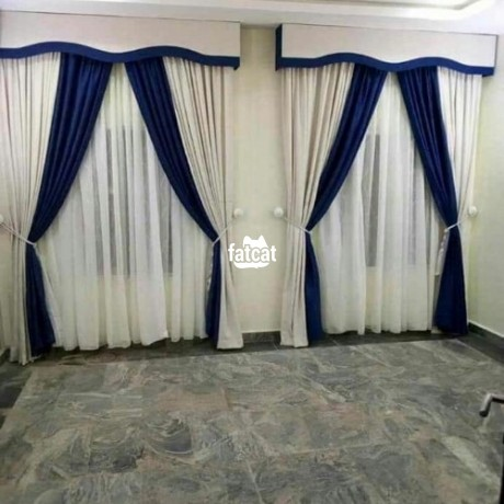 Classified Ads In Nigeria, Best Post Free Ads - quality-curtains-in-wuse-abuja-for-sale-big-2