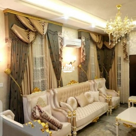 Classified Ads In Nigeria, Best Post Free Ads - quality-curtains-in-wuse-abuja-for-sale-big-0