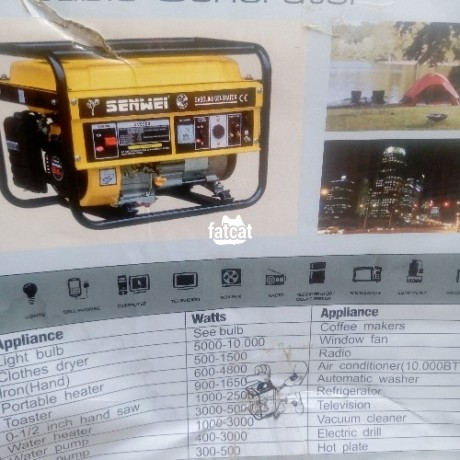 Classified Ads In Nigeria, Best Post Free Ads - senwei-generator-in-utako-abuja-for-sale-big-1