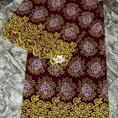 Classified Ads In Nigeria, Best Post Free Ads - lace-materials-in-nyanya-abuja-for-sale-big-1