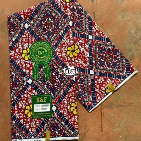 Classified Ads In Nigeria, Best Post Free Ads - ankara-materials-in-utako-abuja-for-sale-big-2