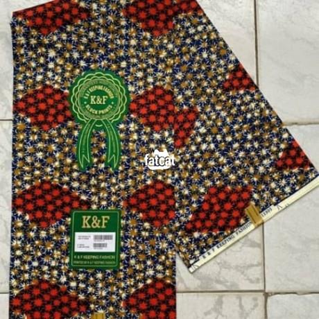 Classified Ads In Nigeria, Best Post Free Ads - ankara-materials-in-utako-abuja-for-sale-big-1