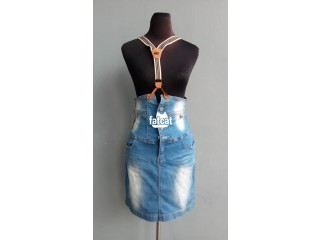 Denim Pinafore Jeans in Abuja for Sale