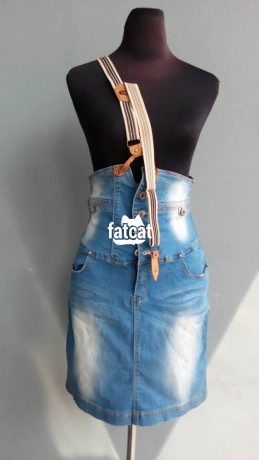 Classified Ads In Nigeria, Best Post Free Ads - denim-pinafore-jeans-big-1