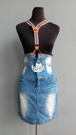 Classified Ads In Nigeria, Best Post Free Ads - denim-pinafore-jeans-big-0