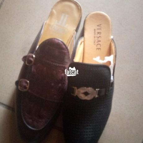 Classified Ads In Nigeria, Best Post Free Ads - versace-half-shoe-in-mararaba-abuja-for-sale-big-0