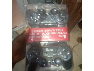 Double Gamepad Game Controllers
