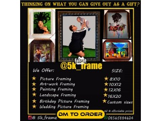 Picture Framing in Lagos Island, Lagos for Sale