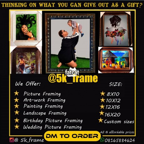 Classified Ads In Nigeria, Best Post Free Ads - picture-framing-in-lagos-island-lagos-for-sale-big-0