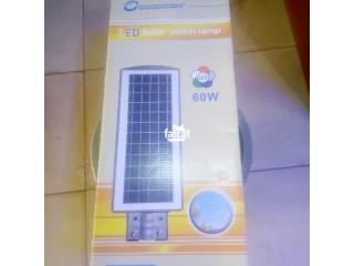 Led Solar Street Light in Orozo, Abuja for Sale