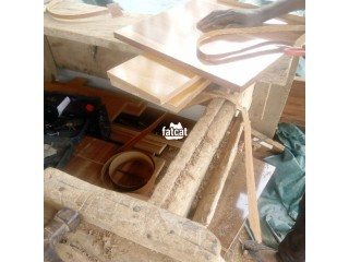 We do all Kinds of Furniture, Carpentry work, Roofing and more