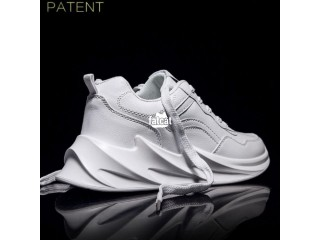 Shark Bottom Men's Sneakers -White in Lagos for Sale