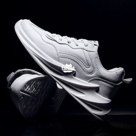 Classified Ads In Nigeria, Best Post Free Ads - shark-bottom-mens-sneakers-white-big-2