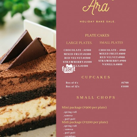 Classified Ads In Nigeria, Best Post Free Ads - cakes-and-snacks-in-ibadan-oyo-for-sale-big-0