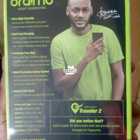 Classified Ads In Nigeria, Best Post Free Ads - oraimo-power-bank-big-3