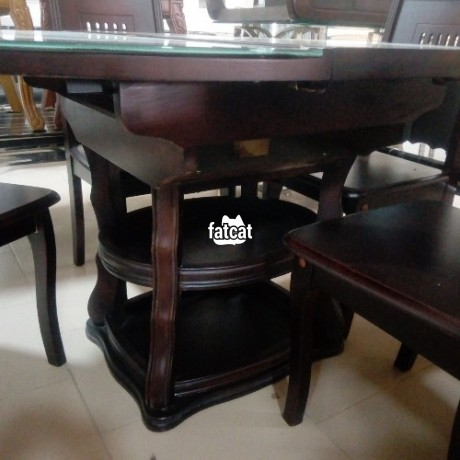 Classified Ads In Nigeria, Best Post Free Ads - set-of-glass-and-wooden-dining-table-big-1