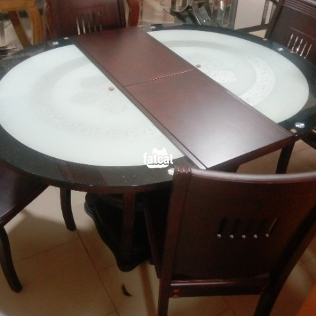 Classified Ads In Nigeria, Best Post Free Ads - set-of-glass-and-wooden-dining-table-big-0