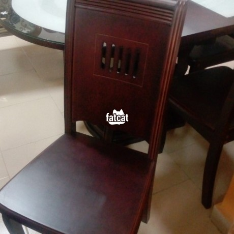 Classified Ads In Nigeria, Best Post Free Ads - set-of-glass-and-wooden-dining-table-big-2