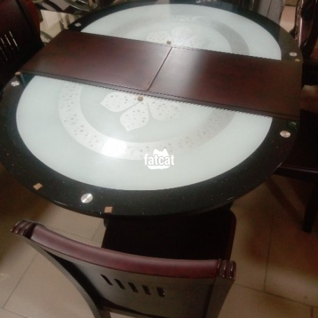 Classified Ads In Nigeria, Best Post Free Ads - set-of-glass-and-wooden-dining-table-big-3