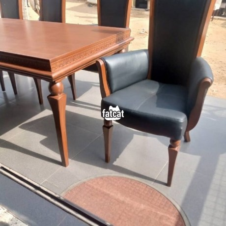 Classified Ads In Nigeria, Best Post Free Ads - six-seater-dining-table-set-big-1