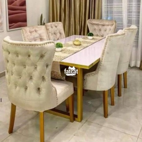 Classified Ads In Nigeria, Best Post Free Ads - six-seater-dining-table-set-big-0