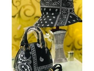 Ladies Design Handbags with Cover Cap