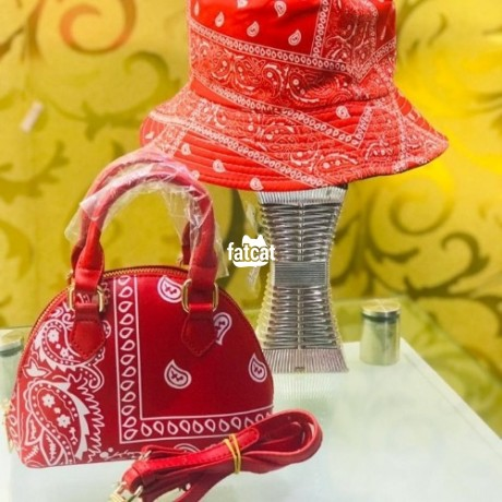 Classified Ads In Nigeria, Best Post Free Ads - ladies-design-handbags-with-cover-cap-big-1