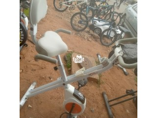 Foreign Used Sean Lee Exercise Workout Bike