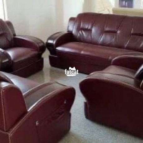 Classified Ads In Nigeria, Best Post Free Ads - quality-leather-seven-seaters-chairs-big-0