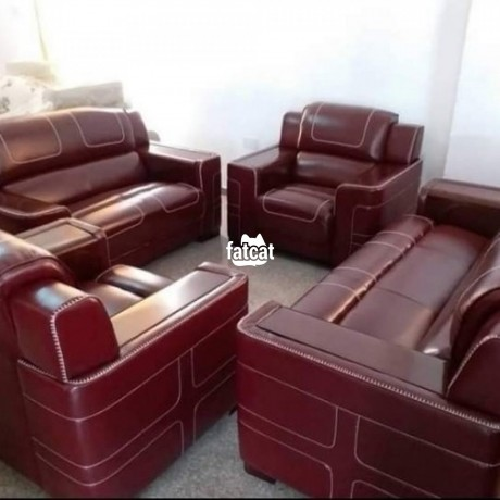Classified Ads In Nigeria, Best Post Free Ads - quality-seven-seaters-leather-chairs-set-big-0