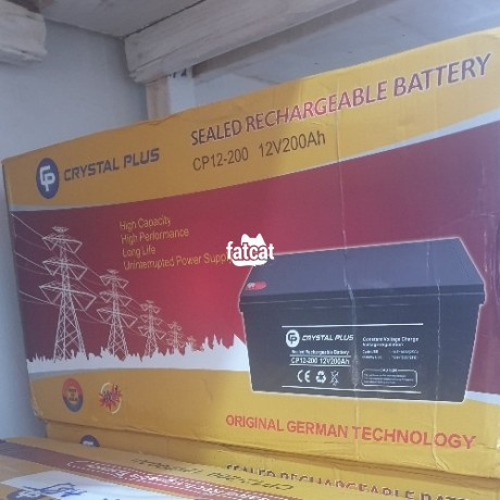 Classified Ads In Nigeria, Best Post Free Ads - 200ah-12v-crystal-plus-battery-big-1