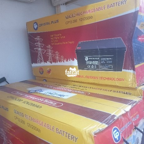 Classified Ads In Nigeria, Best Post Free Ads - 200ah-12v-crystal-plus-battery-big-0