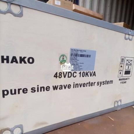 Classified Ads In Nigeria, Best Post Free Ads - 10kva-48v-yohako-pure-sine-wave-inverter-big-0