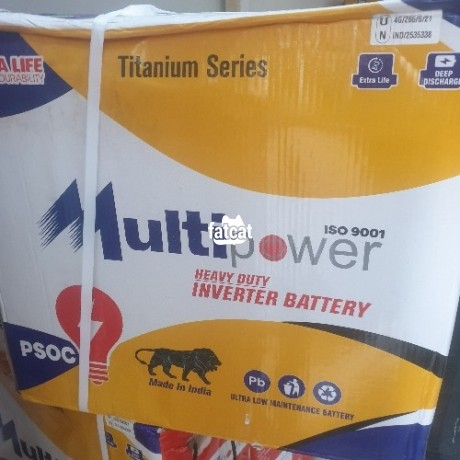 Classified Ads In Nigeria, Best Post Free Ads - multipower-tubular-inverter-battery-12v220ah-big-0