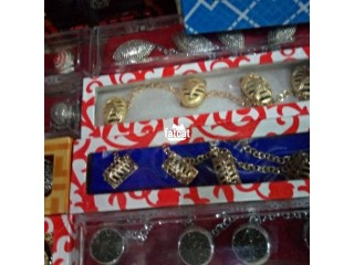 Niger Delta Chieftaincy Button - Gold
