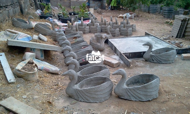 Classified Ads In Nigeria, Best Post Free Ads - artistic-and-innovative-solid-concrete-flower-pots-in-different-concepts-and-sizes-big-2