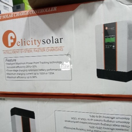 Classified Ads In Nigeria, Best Post Free Ads - felicity-solar-charge-controller-120a-48v-big-0