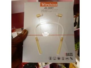 Wireless White JBL JB-30BT Bluetooth Headset