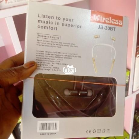 Classified Ads In Nigeria, Best Post Free Ads - wireless-white-jbl-jb-30bt-bluetooth-headset-big-1