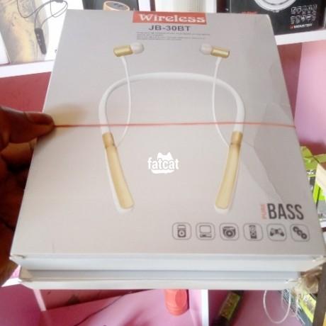Classified Ads In Nigeria, Best Post Free Ads - wireless-white-jbl-jb-30bt-bluetooth-headset-big-2