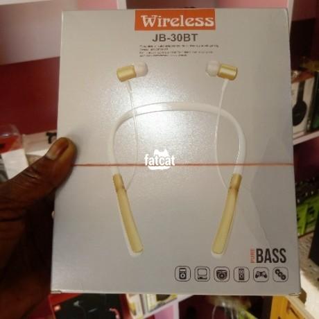 Classified Ads In Nigeria, Best Post Free Ads - wireless-white-jbl-jb-30bt-bluetooth-headset-big-0