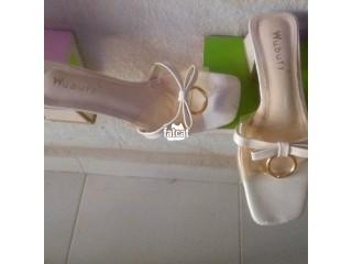 UK used Block Heel Ladies Easy Wear Shoes