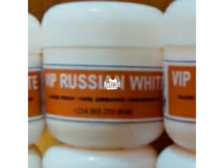 VIP Russian white Cream for smoothing and whitening