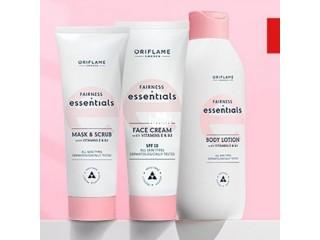 Set of Fairness Essential Cream