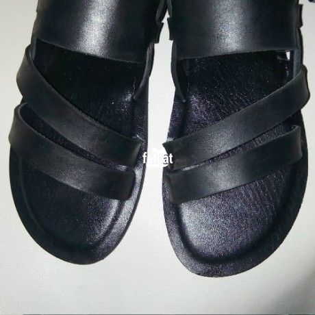 Classified Ads In Nigeria, Best Post Free Ads - unisex-leather-sandals-in-dakibiyu-abuja-fct-for-sale-big-0