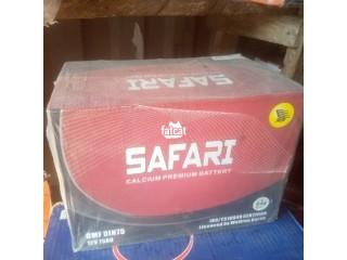 Quality Safari Calcium Premium 75AH Battery