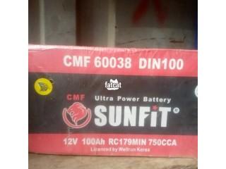 Quality Sunfit Ultra Power Battery