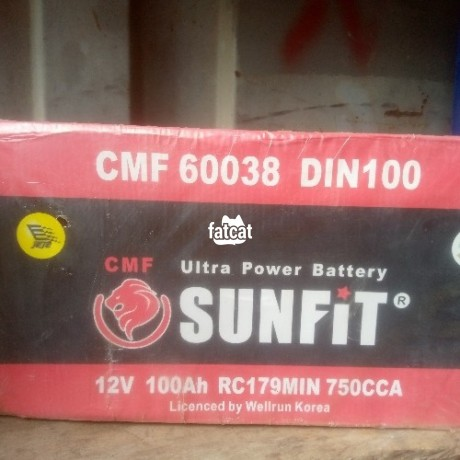 Classified Ads In Nigeria, Best Post Free Ads - quality-sunfit-ultra-power-battery-big-0